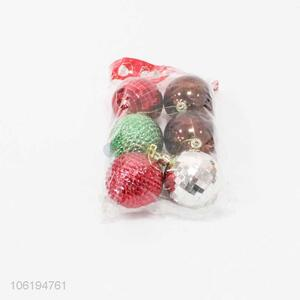 Wholesale Fashion Colorful Christmas Ball Set