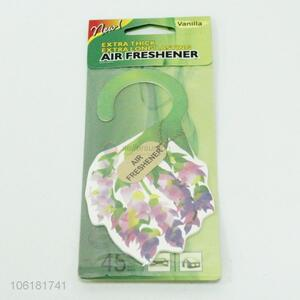 Good quality paper car air freshener home perfume