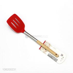 Hot Selling Silicone Kitchen Utensil Leakage Shovel