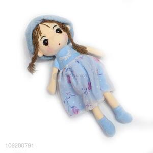 High Sales Sweet Cute Girl Toys Plush Dolls Stuffed Dolls For Kids