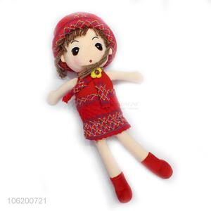 Hot Sell Fashion Girl Doll With Sweater Figure Doll Soft Toy For Children