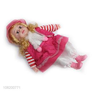 New Product Lovely Baby Doll Girl Toy With Music