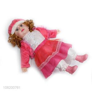 Good Factory Price Beautiful Girl Dolls Plush Doll With Music