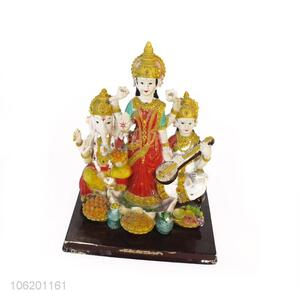 Cheap And Good Quality Polyresin Hindu God Figurines