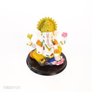 New Product Handmade Hand Painted Indian Home Decorative Gift Item Resin Idol Of Ganesha