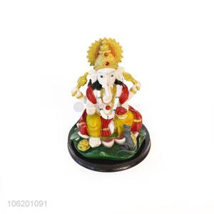 Exclusive Handmade Handpainted Sculpture Lord Ganesha Statue