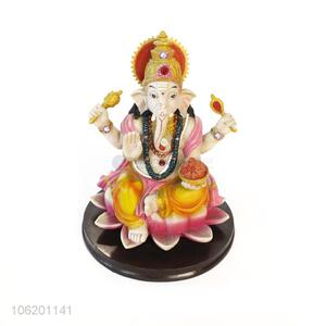 Hot Sale Religious Hindu Gods Resin Lord Ganesha