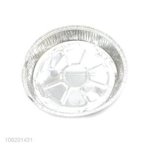 High Sales Round Shape Dinner Used Food Aluminium Foil Container Pan