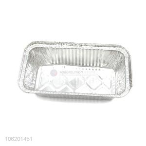 New Rectangular Aluminum Foil Containers Tray For Dinner