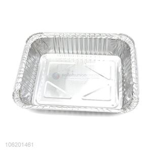 Hot Selling Aluminium Foil Container Tray For Fast Food Dinner Plates