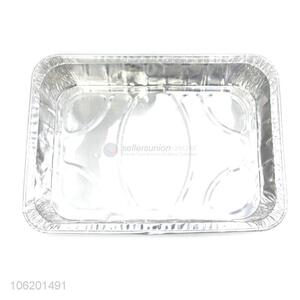 Factory Price Square Aluminum Foil Catering Tableware Food Container