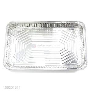 Popular Style Disposable Aluminium Foil Tableware Food Container