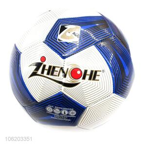 Custom Sports Football PVC Bladder Soccer Ball