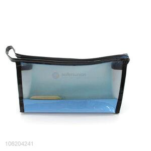 Low price transparent cosmetic makeup bag for women