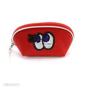 Factory direct supply sequin eye makeup cosmetic bags