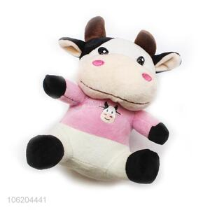 Oem factory custom plush toy soft stuffed cow