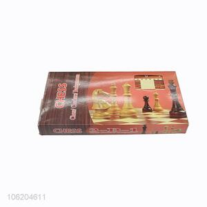 Low price classic wooden international chess set