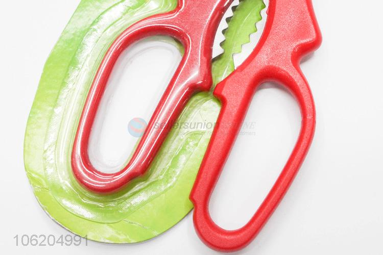 Wholesale cheap multi-use stainless steel kitchen shears scissors