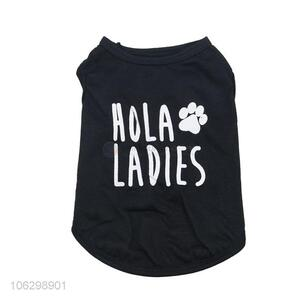 Simple Style Cotton Pet Clothes Dog Tank Top