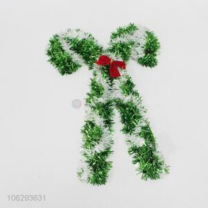 Hot sale festival decoration tinsel Christmas cane