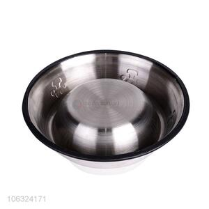 Best Stainless Steel Dog Bowl Slip-Proof Durable Pet Dog Water Feeding Bowl