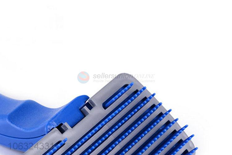 Wholesale Dog Self Cleaning Slicker Deshedding Brush Pet Hair Comb