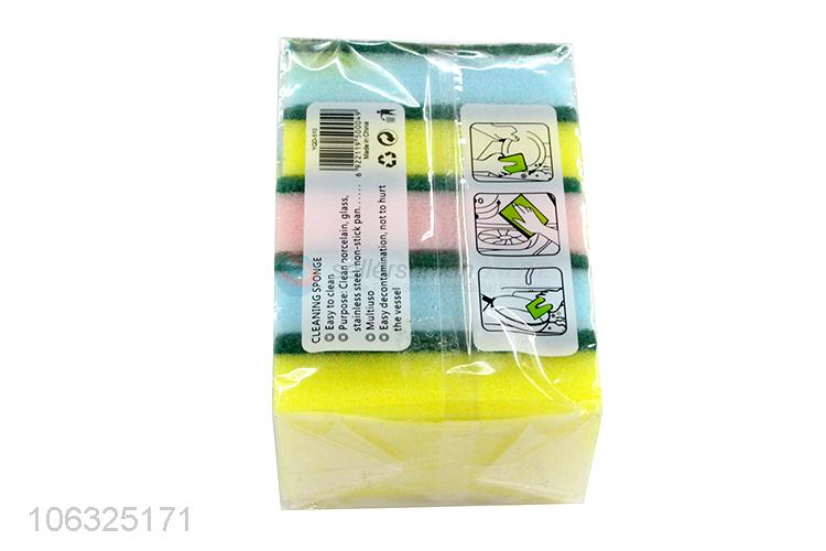 China Manufacture Cleaning Sponge Colorful Scouring Pad