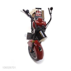 Hot Style Metal Craft Cute Mini Motorcycle Model For Home Decoration