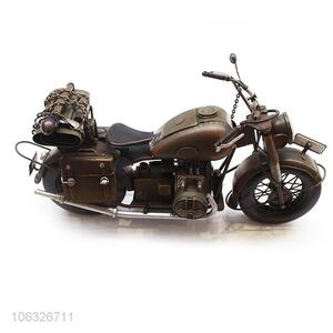 New Antique Style Vintage Craft Metal Motorcycle Model