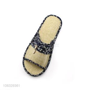 High Quality Comfortable Linen Soft Home Slippers