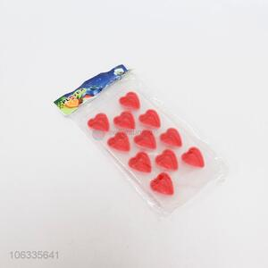 Competitive Price Heart Shape 11-Cavity Ice Cube Tray