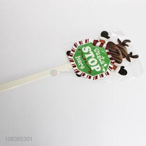 Wholesale decoration Christmas stick with deer design