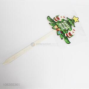 New Christmas Tree Shape Christmas Decoration Sticks