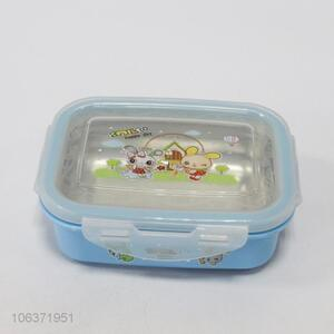 High Quality Blue Stainless Steel Lunch Box