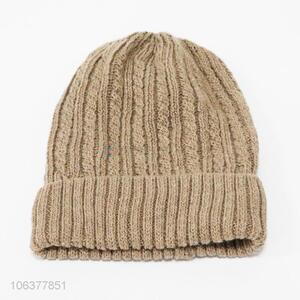Factory price men acrylic knitting hat winter beanie