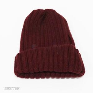 Competitive price boys outdoor winter knitting beanie