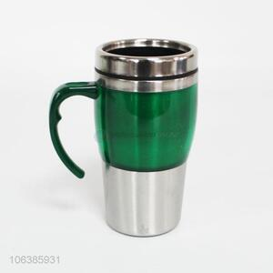 Top sale high-grade stainless steel auto mug with handle