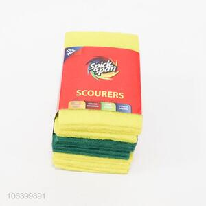 Bulk price wholesale 15pcs scouring pads for kitchen