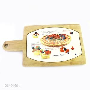 Good Quality Rectangle Pizza Pan  Wooden Pizza Tray