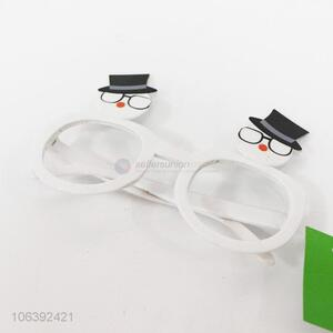Creative Design Plastic Glasses Best Party Patch