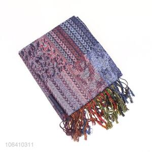 New Latest Fashion Polyester Long Scarf For Women