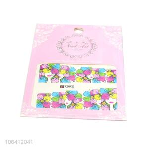 Excellent Quality Watermark Transfer Nail Sticker