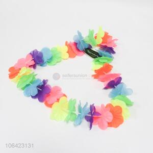 New Design Colorful Flower Lei Fashion Garland