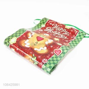 Factory price customized Xmas decoration nonwovens banners