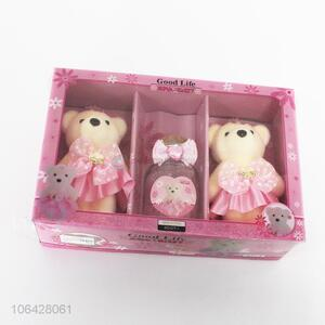 Unique Design Cute Bear Gift Set For Valentine's Day