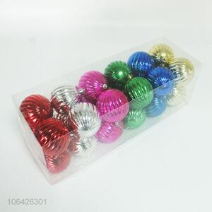 High Sales 24PCS Christmas Ball Pendants Christmas Decoration