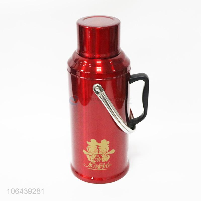 Hot Thermos Flask Bottle Water Jug With Handle
