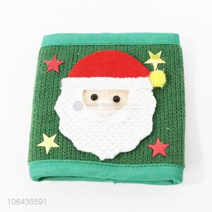 Hot sale knitted cup cover home decoration Christmas supplies