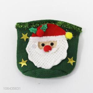 Hot sale hand knitted hand protector Christmas cup cover