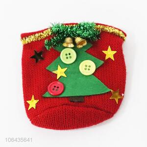 New design knit Christmas coffee mug cup cover